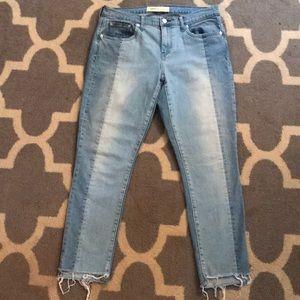Gap Best Girlfriend Jeans 2 tone